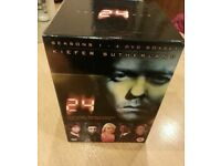 24 Seasons Series 1, 2, 3, 4 Special Edition Boxset - New and Unused