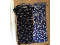 2x New Look Lovely Maternity Dresses both size 8 £10
