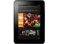 Amazon Kindle Fire HD 16GB, Wi-Fi, 7 inch screen with case