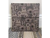Paperchase vintage camera scrapbook / sketchpad