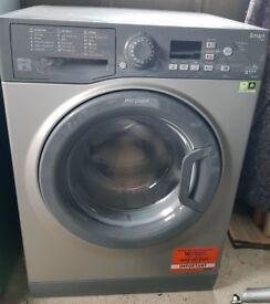 Washing machine, Hotpoint-8Kg-A+++ few months old - Model WMFUG 863