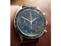 OMEGA SPEEDMASTER MOONWATCH WITH FREE NATO STRAP HIGH QUALITY FREE SHIPPING