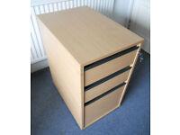 Office Drawer Pedestal Units - Filing Cabinets - Shelf Unit - £15 each