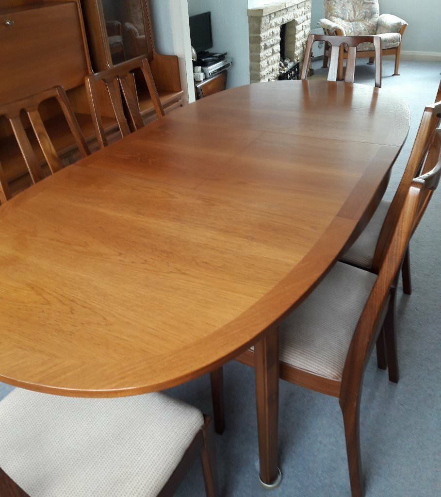 Nathan Parker Knoll Dining Table And
