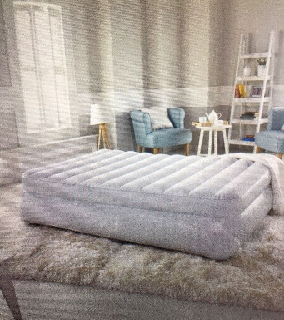 Aerobed Premium Raised Double Airbed With Carry Bag