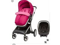 3 in 1 Baby pram, pushchair, partly brand new