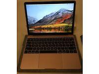 Apple MacBook Rose Gold 1.3Ghz i5 3.2Ghz M5 512GB SSD 8GB Ram 2017