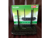 TP-Link Archer C2 AC750 Wireless Dual Band AC Gigabit Router, boxed, £25
