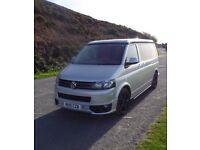 T5, TDi, SWB, Sportline, Autohaus Kombi/ Camper. Reimo roof, leather finish, 12v and 24v elec, etc