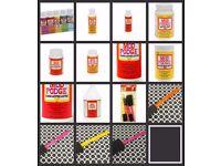 Mod Podge full range 8oz 16oz 32oz Gloss/Matte glue decoupage, glitter, Dishwasher safe, furniture,