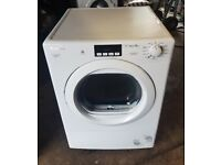 6 MONTHS WARRANTY Candy large 10kg sensor condenser tumble dryer FREE DELIVERY