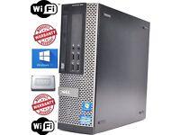 Dell Optiplex 790SFF PC CORE i7 @ 3.2GHz 8GB 128 SSD DVD WIN 7 PRO 64BIT