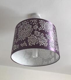 2 X light/ lamp shades