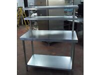 CATERING STAINLESS STEEL BENCH