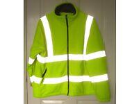 NEW!!! Hi-Vis Fleece Jacket XXL 2XL