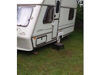 Award Globestar 4 berth touring Caravan