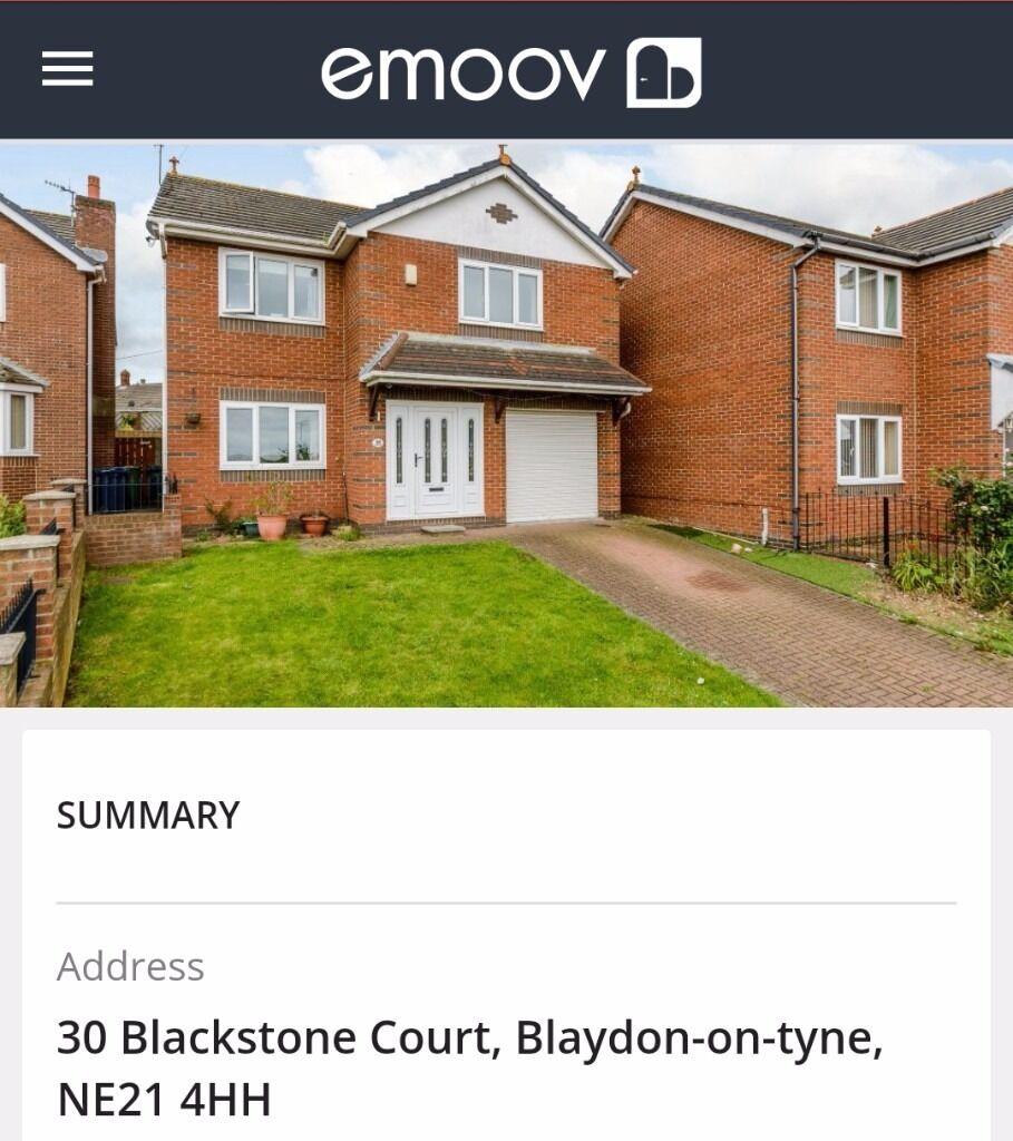 Blaydon 4 bedroom detached house Blackstone Court