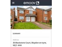 Blaydon 4 bedroom detached house Blackstone Court