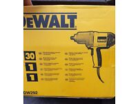 Unused & Boxed DeWALT DW292 240v Impact Wrench Drill with 1/2″ drive delivers 440Nm of torque