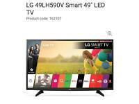 "New LG 49"" SMART LED WEBOS HD TV FREEVIEW WIFI NETFLIX ETC"