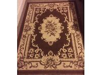 Brown & Ivory Carpet