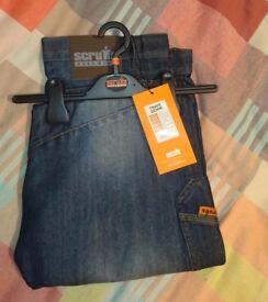 Scruffs trade denim work jeans