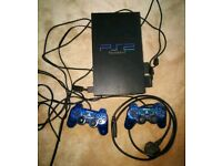 PlayStation 2 Game Console + Games