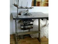 Brother over locker industrial sewing machine