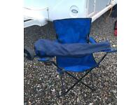 2 lightweight camping chairs