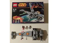 Retired Star Wars Lego: 75050 B-wing. Comes complete and in excellent condition.