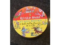 The Roald Dahl Audio CD Collection - Gift Set of 27 CDs (10 Classic Titles)