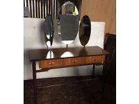 Vintage Dressing Table in teak.