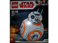 Brand new in box BB8 Lego set