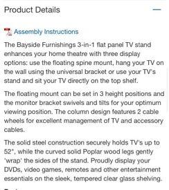 Amazing Costco tv table