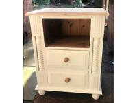 Shabby chic solid pine cabinet