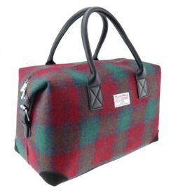 Authentic Harris Tweed Holdall Unisex Bag (Brand New)