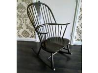Vintage Ercol Chairmakers Rocking Chair