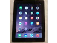 APPLE IPAD 4 16GB WIFI AND CELLULAR EE WITH RECEIPT