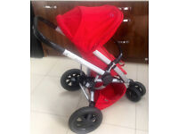 QUINNY BUZZ XTRA IN RED RUMOUR LATEST MODEL IN VGC