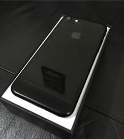 Iphone 7- 128GB, Jet Black, Good Condition, Boxed