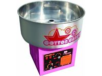 Pink Commercial Candy Floss Making Machine Fun Party Cooking Snacks Brand New