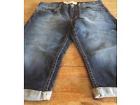 Boys Levi 511 shorts. Aged 14 years