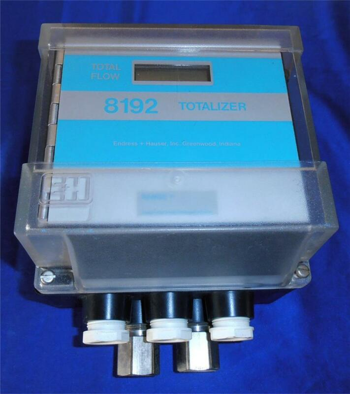 Endress & Hauser 8192 Totalizer - Digital Flow Meter