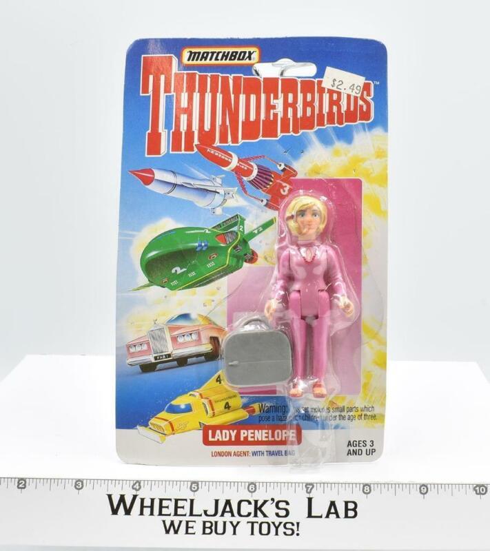 """Lady Penelope 3.5"""" Thunderbirds New MOSC 1994 Vintage Matchbox"""