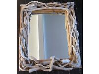 New Large Driftwood Rustic hand crafted Mirror