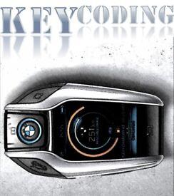 BMW car Key programming and coding