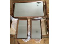 FREE 3 Vanity Mirrors: 1 Medium / 2 Small