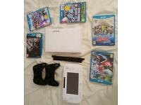 Nintendo Wii U + 3 Controllers + Zelda, Mario Kart, Super Smash, Call of Duty and more!