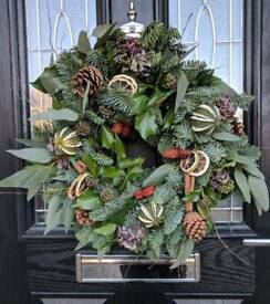 Handmade Real Christmas Wreath