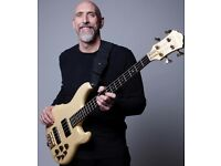 Bass Guitar & Double Bass Lessons with High Profile Bass player